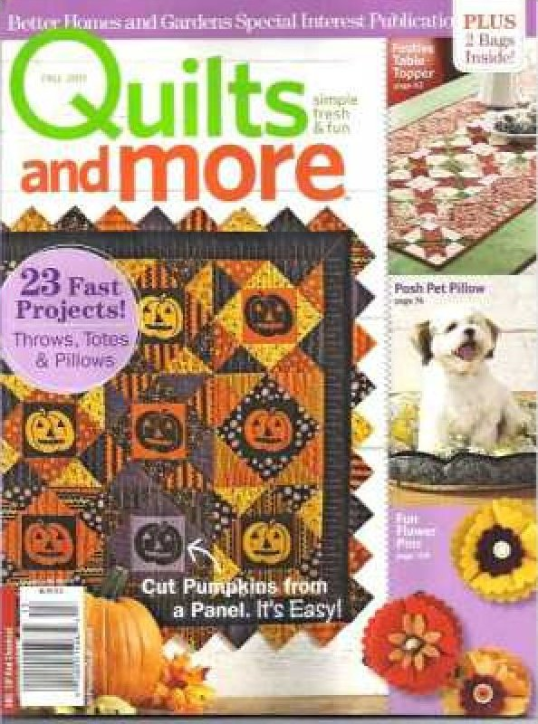 Magazine Better Homes and Gardens Specialty Publication 2016 Christmas Quilts and More
