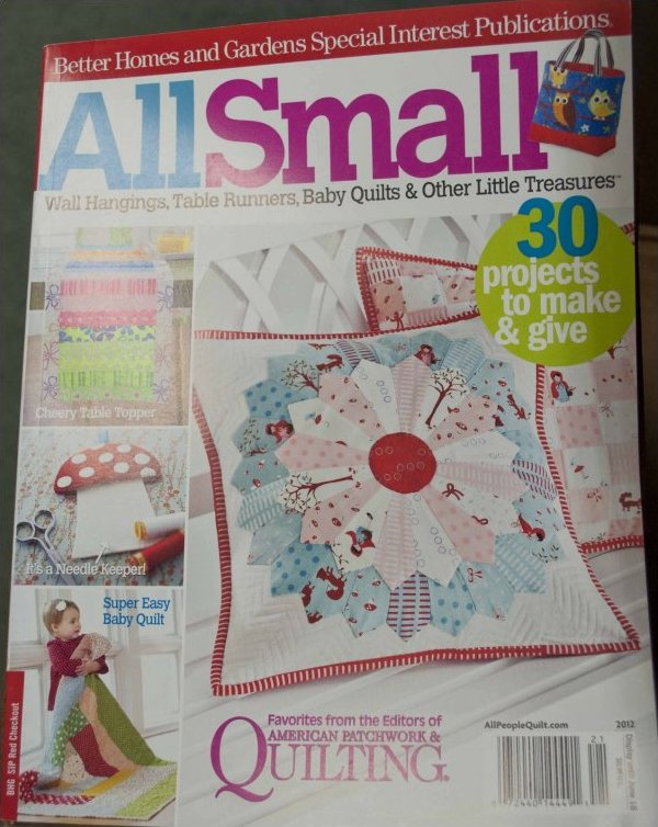 Magazine better homes and gardens special interest publication all small quilt magazine for Better homes and gardens media kit