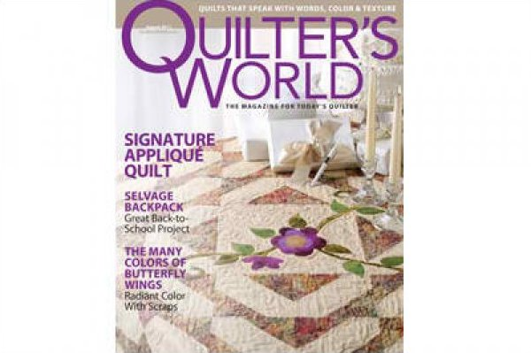Magazine Quilter's World The Magazine for Today's Quilter August 2011 Volume 33 Issue 4
