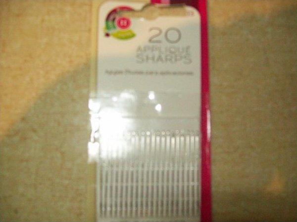 Prym Applique Sharps size 9