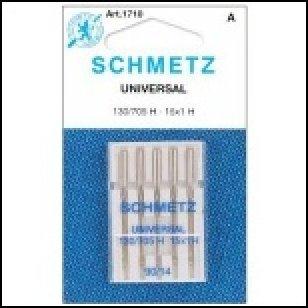 Universal Machine Needles Schmetz Article 1728 Woven Knit Size 18/110 5/Pkg