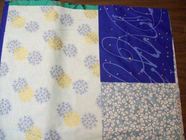 Fabric ANDOVER GRACEFUL GEISHAS CHERRY BLOSSOMS Fabric