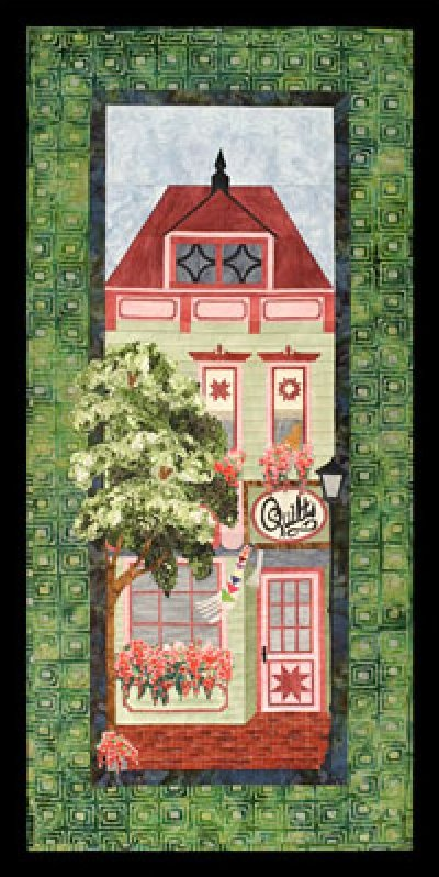 The Quilt Shop - from the Painted Ladies Series
