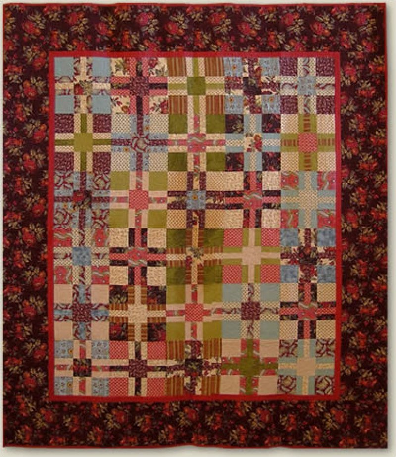 Kris-Cross Quilt Pattern   164 NRD 164