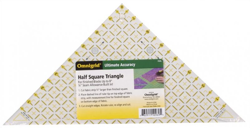 Omnigrid Half Square Triangle 6