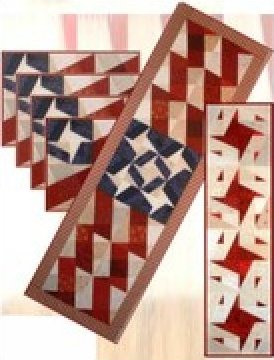 Sweet Liberty Table runner & Placemats