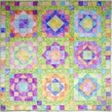 Sea Glass designed by Karen Montgomery for The Quilt Company