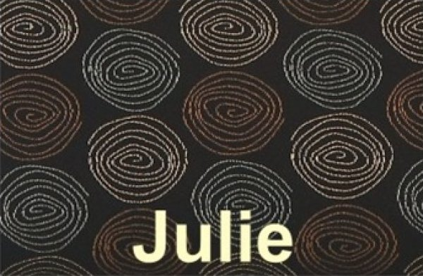 Notions Tote Bag Julie - Spiral metallic print Design - NBIMJU