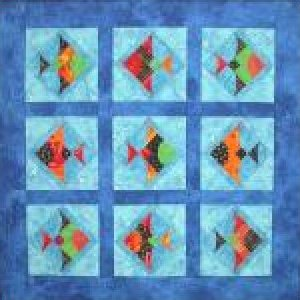 Gone Fishing Quilt Pattern by Southwind Designs - SWD-207