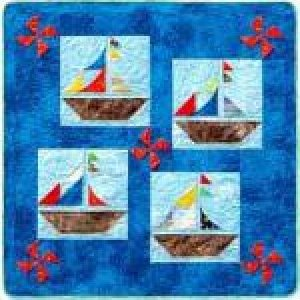 Sail Away or Ship Ahoy Quilt Pattern - Southwind Designs - SWD-500-SA
