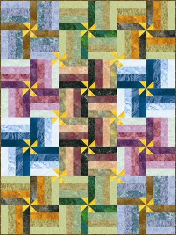 Wrap It up! Quilt Kit-64x80