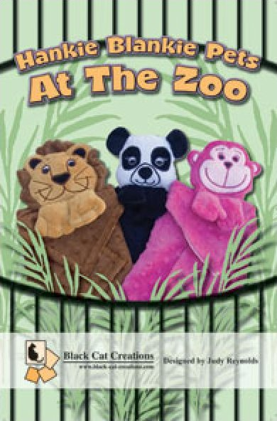 Hankie Blankie Pets at the Zoo by Judy Reynolds 85825300184