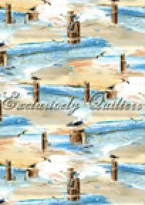 Seashells by Exclusively Quilters - 60323-2