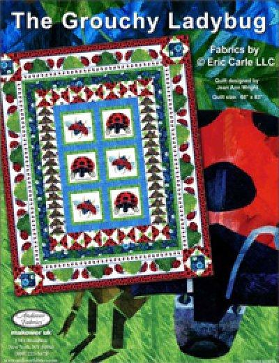 The Grouchy Ladybug Kit for Andover Fabrics - 68 x 83 - K10564