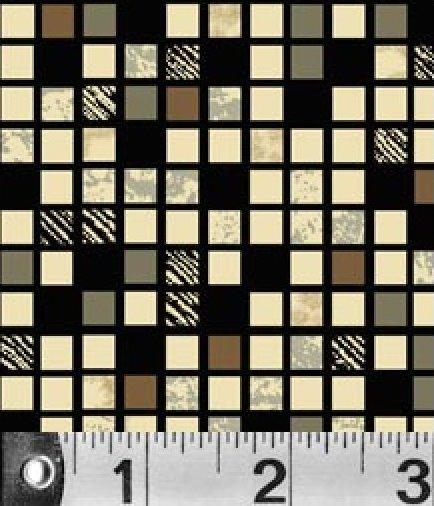 Downtown block print - by P&B Textiles - 245KZ