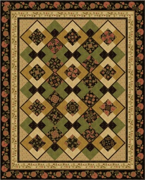 Belle Kaleidoscope by Quilt Moments- QM125