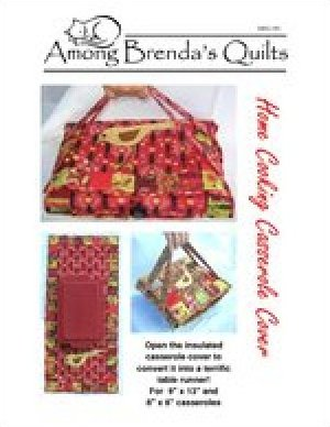 Home Cooking Casserole Cover by Among Brenda's Quilts - ABQ-140