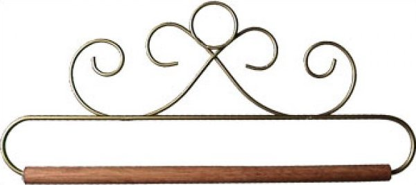8 inch French Curl Gold - craft holder - 87507