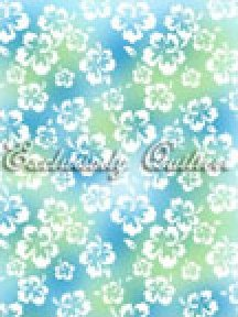Fun In Sun Blue Floral by Classic Cottons - 3900605202