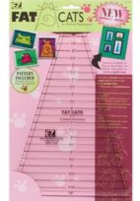 EZ Quilting Template Fat Cats by Darlene Zimmerman - 8823747
