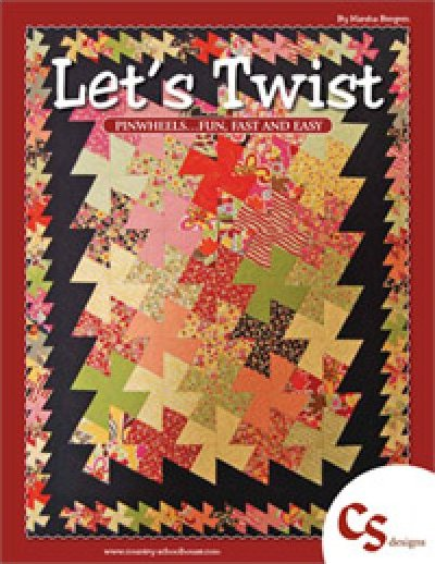 Let's Twist...Again - Twister Pattern Book - Pin Wheels - 744674515186