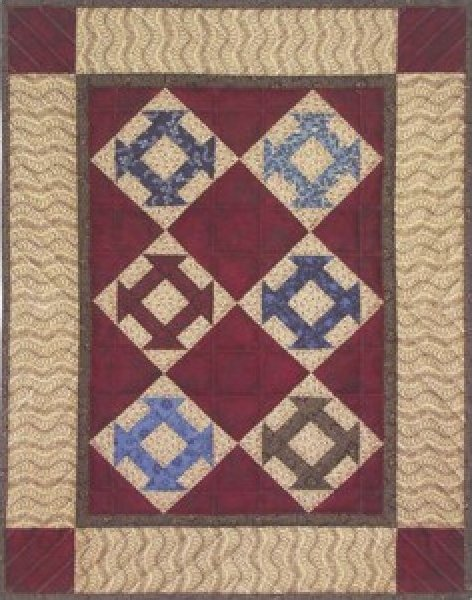 Hole in the Barn Door Wall Quilt Kit (633162010077)