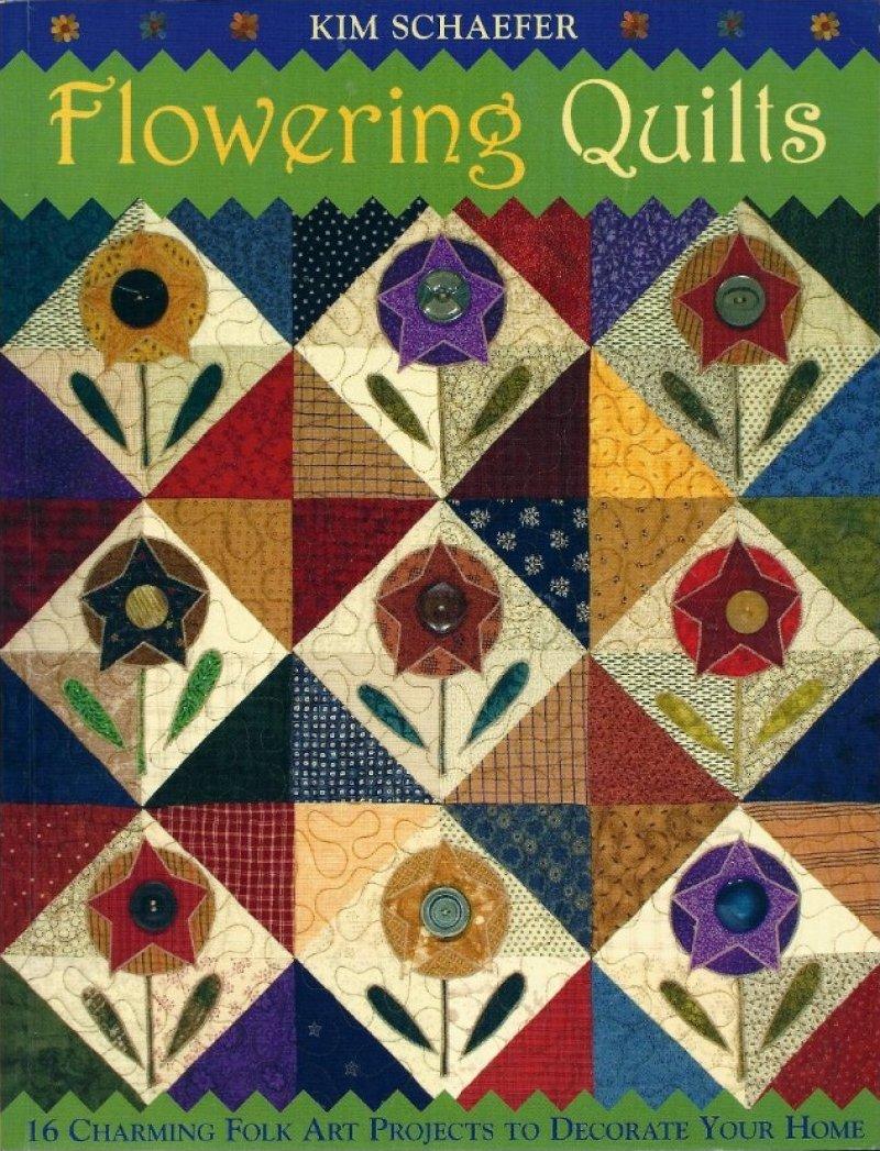 Flowering Quilts: Folk Art Scrap Quilts