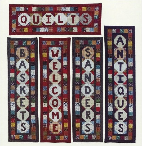 #124: Patched Name Quilts