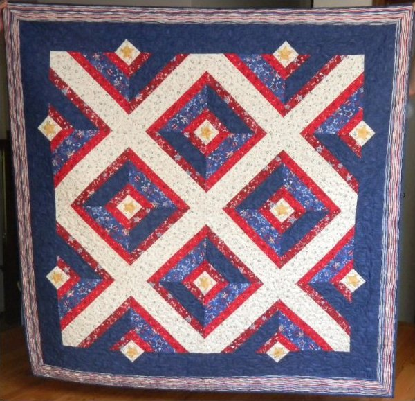 Quilts of Valor Tube Quilt