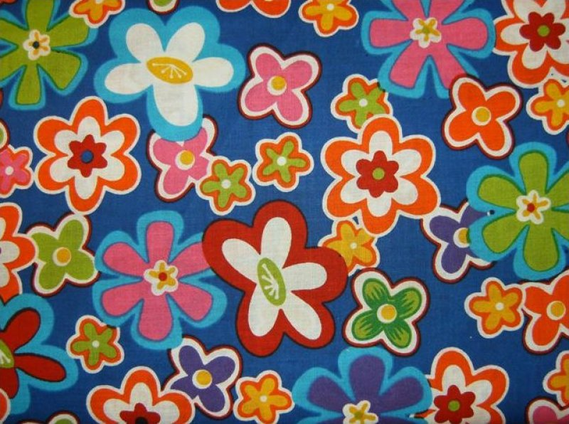 Retro Flower Power  5296-77