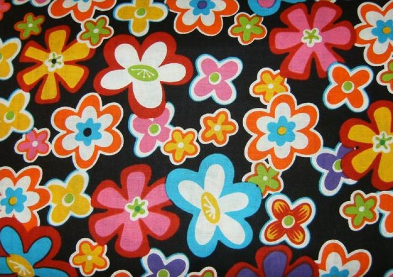 Retro Flower Power 5296-99