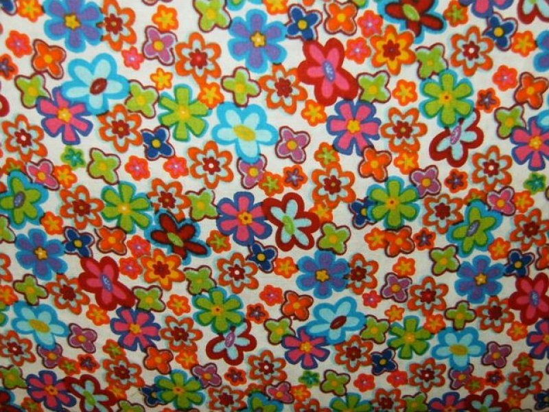 Retro Flower Power 5295-77