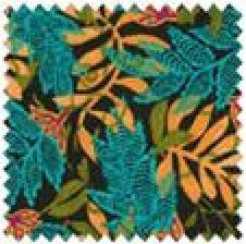 Cara Collection Craft Cotton #9828 Black blue gold