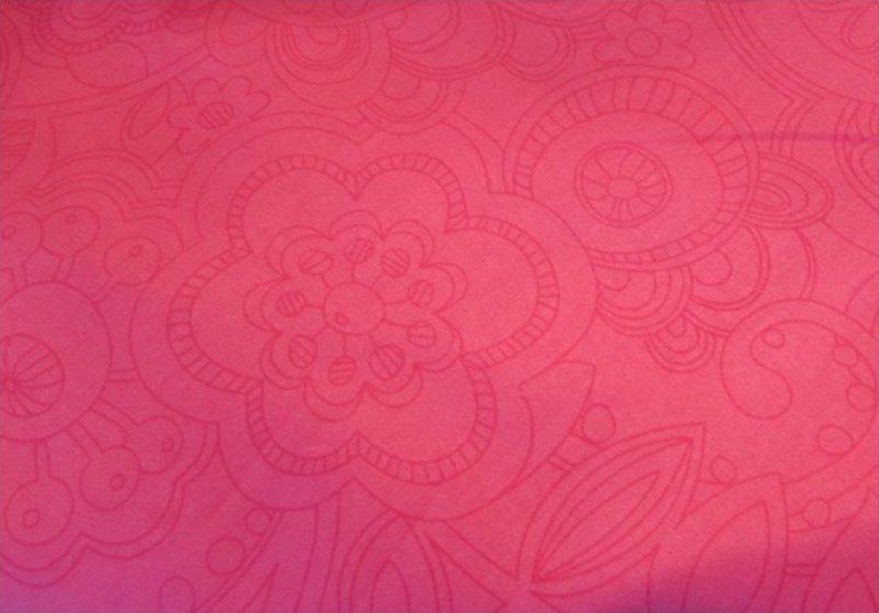 Crafty Cotton FS-EM01 Pink Floral Swirl