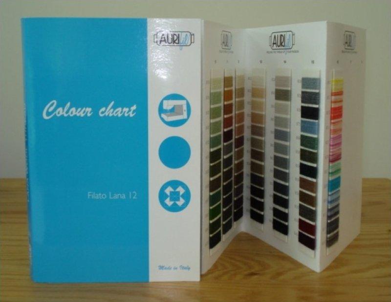 Lana Wool Color Chart