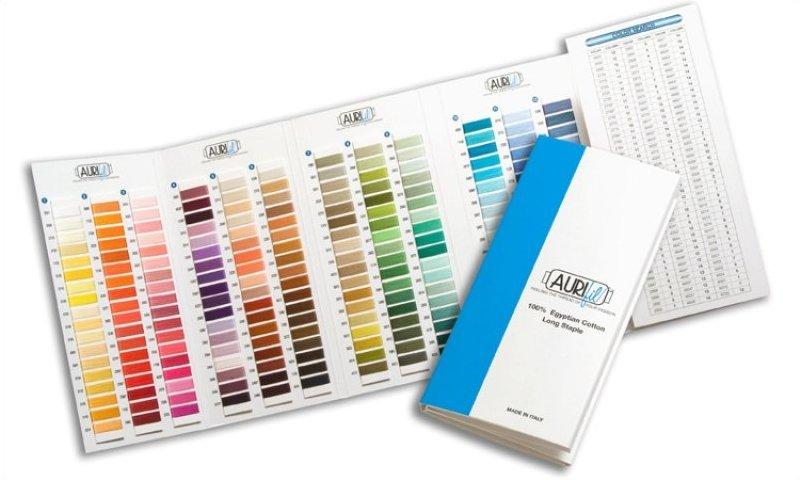 Mako Cotton Color Chart