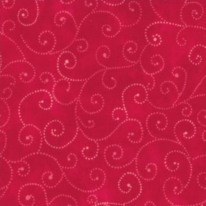 Moda Swirls - Christmas Red 9908/23