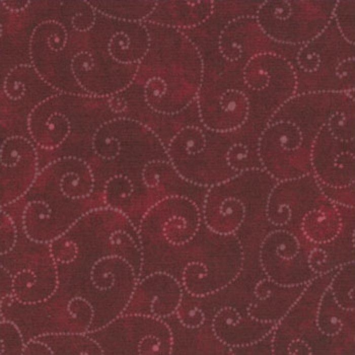 Moda Swirls - Burgandy 9908/25