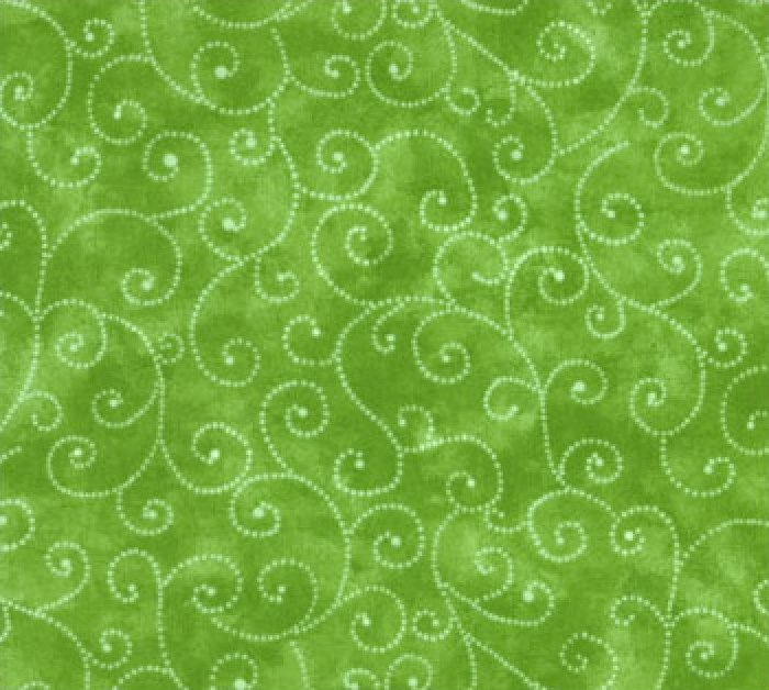 Moda Swirls - Green 9908/66