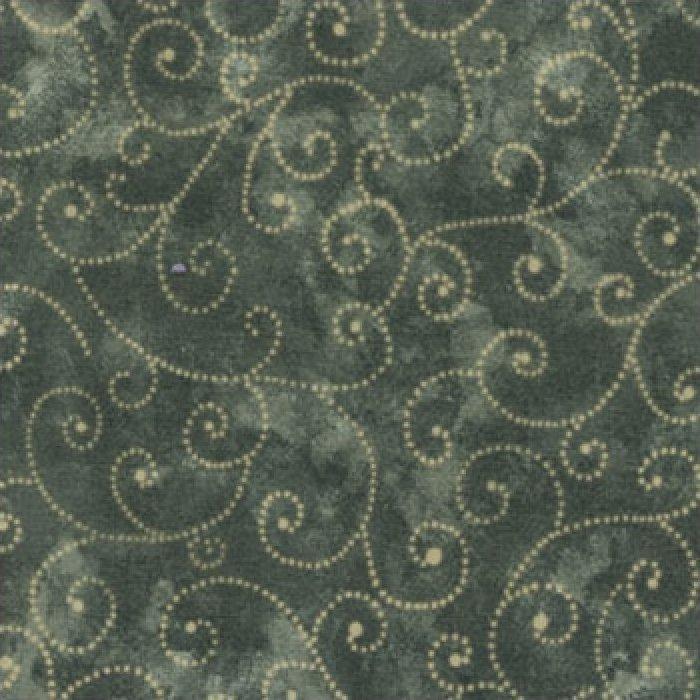 Moda Swirls - Pine 9908/47