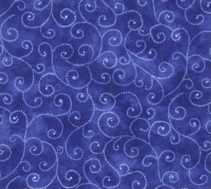 Moda Swirls - Royal 9908/64