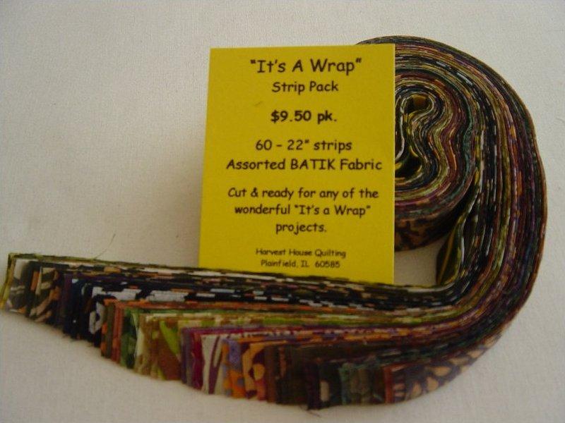 It's A Wrap Fabric Pack -  Earth Tone Batiks