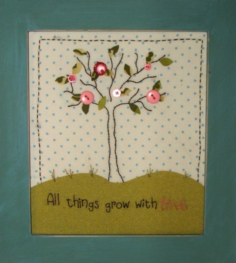 Pine Bough - All Things Grow With Love embroidery pattern