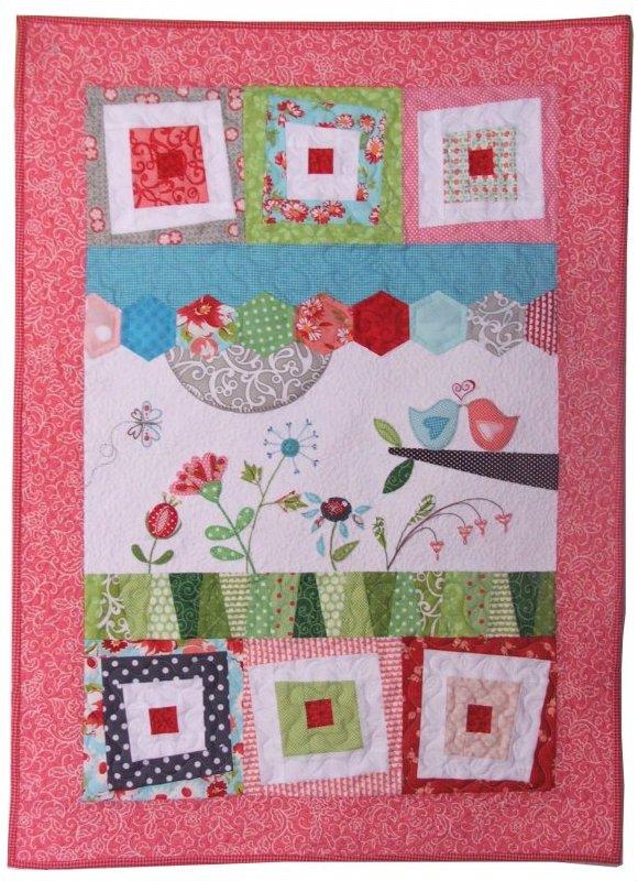 Wonky Love Fabric Kit