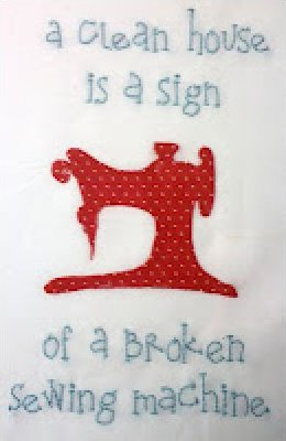 A Broken Sewing Machine