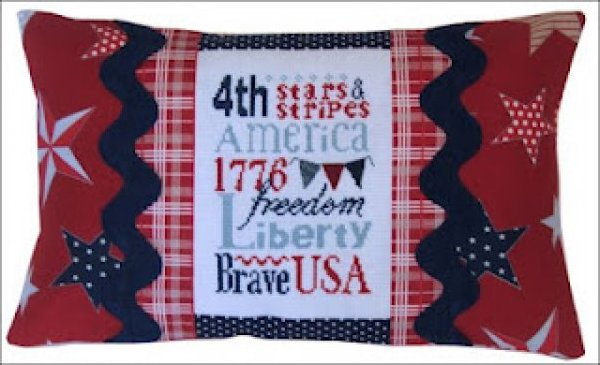 Liberty Typography Pillow Kit