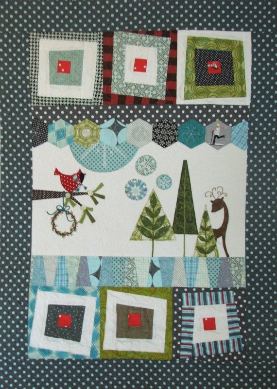Wonky Winter Fabric Kit