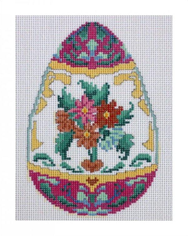 KR7023 - Floral Egg