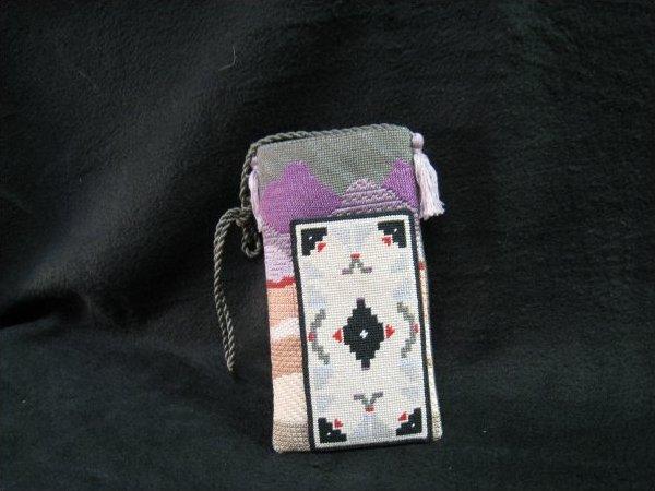 Southwest glass/ipod case or scissor case A50I