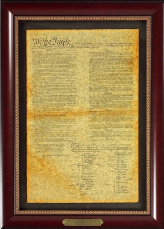 Executive Gallery image of The Constitution of the United States document